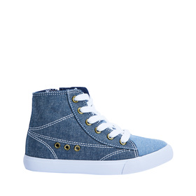 Chambray High Top Sneaker