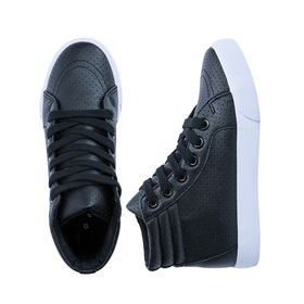 Perforated High Top Sneaker