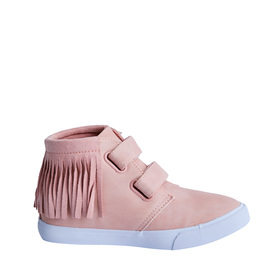 Multi-Strap Fringe High Top