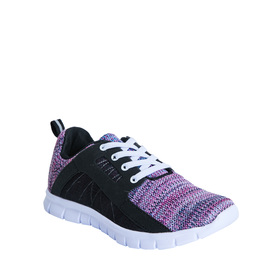 Marled Knit Trainer