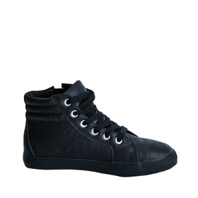 Faux Leather High Top