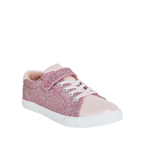 Glitter Strap Lace Up Sneaker