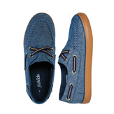 Chambray Boat Shoe