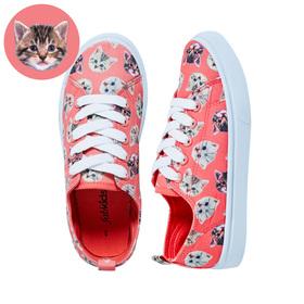 Kitten Lace Up Sneaker