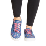 Star Lace Up Sneaker