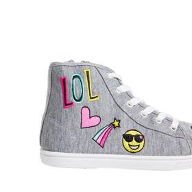 Emoji High Top Sneaker