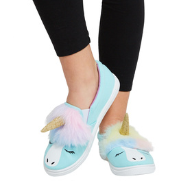 Unicorn Fur Slip On