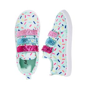 Photo of Sprinkle Glitter Strap Sneaker