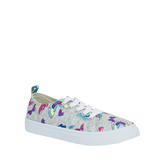 Butterfly Lace Up Sneaker