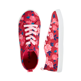 Floral Lace Up Sneaker
