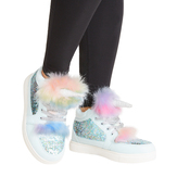 Fur Unicorn Hi Top Sneaker