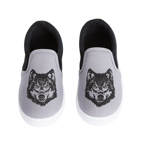 Wolf Slip On