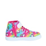 Glitter Strap High Top Sneaker
