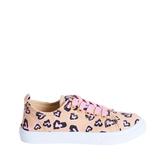 Cheetah Heart Sneaker
