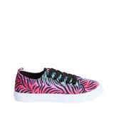 Rainbow Zebra Sneaker