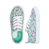 Unicorn Emoji Lace Up Sneaker