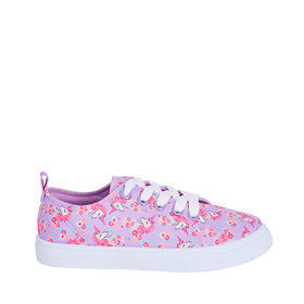 Floral Unicorn Lace Up Sneaker