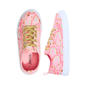 Rainbow Lace Up Sneaker