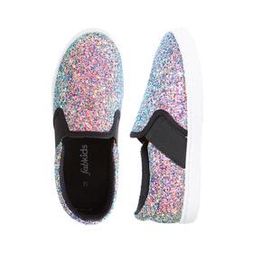 Glitter Slip On