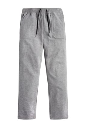 Grey Knit Relaxed Pant