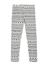 Fab Mini Tribal Print Legging