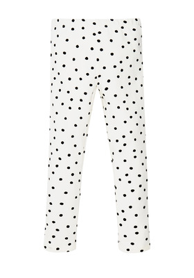 Fab White Star Legging