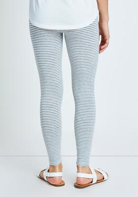 Fab Grey Stripe Legging
