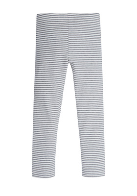 Fab Grey Stripe Legging
