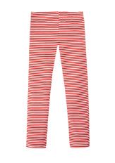 Fab Red Stripe Legging