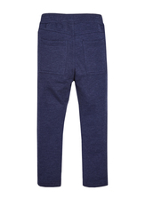 Faux Denim Harem Pant