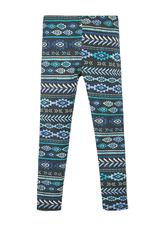 Fab Blue Tribal Legging