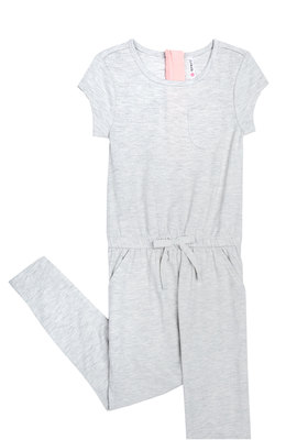Grey Pocket Romper