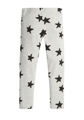 Fab Grey Star Legging