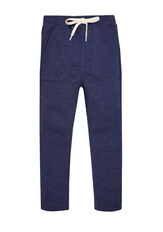 Knit Denim Harem Pant