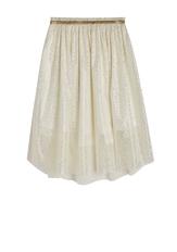 Gold Shimmer Tulle Skirt