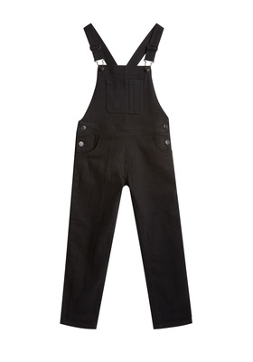 Black Denim Overall