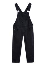 Skinny Black Overalls