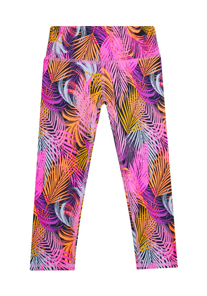 Palm Print Active Capri
