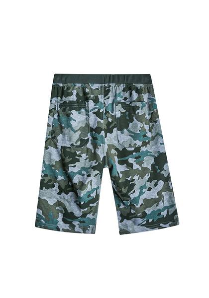 Camo Knit Short