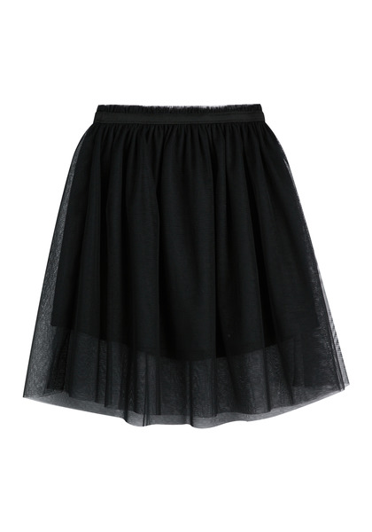 FabKids Skirts Midi Tulle Skirt Girls Black Size M Trendy midi tutu skirt with elastic waistband and layers of tulle. Fully lined. Pair back to her favorite graphic tee or fashion knit top to complete her stylish look!