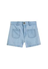 Patch Pocket Denim Short
