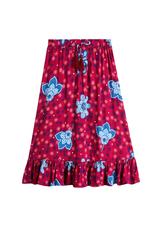Boho Floral Maxi Skirt