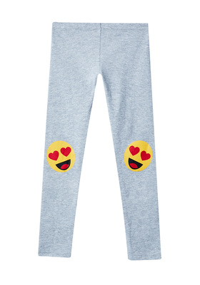 Fab Emoji Knee Legging