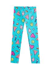 Fab Emoji Print Legging