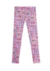 Fab Pink Doodle Legging