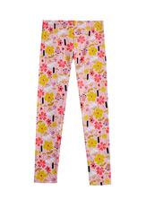 Fab Pink Floral Legging