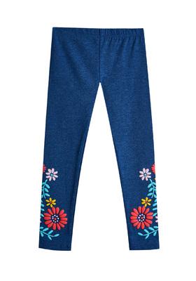 Fab Blue Floral Legging