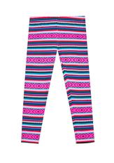 Fab Neon Boho Stripe Legging