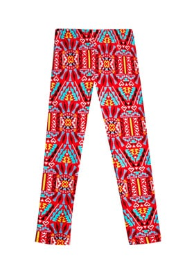 Fab Triangle Print Legging