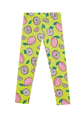 Fab Lemon Print Legging